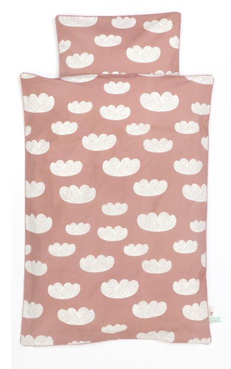 Ferm living Ferm living cloud bedding - rose - junior sengetøj, 1 stk. på lager fra pixizoo