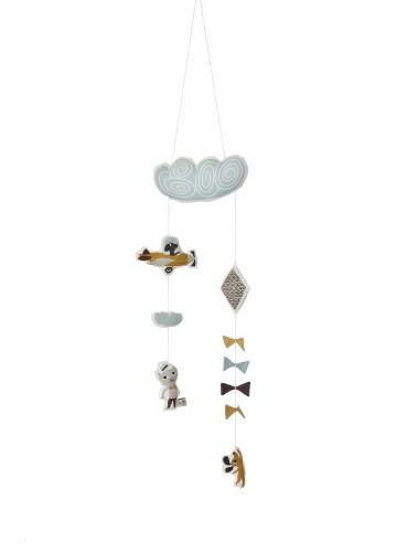 Ferm living Ferm living kite mobile - uro, 3 stk. på lager fra pixizoo