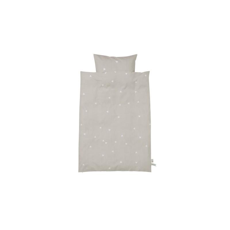 Ferm living teepee bedding - grå - junior sengetøj, 5 stk. på lager fra Ferm living på pixizoo