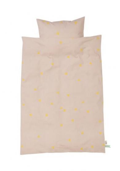 Ferm living – Ferm living teepee bedding - rose - baby sengetøj, 5 stk. på lager på pixizoo