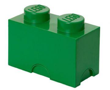Lego opbevaringskasse 2 - grøn, 9 stk. på lager fra Lego på pixizoo