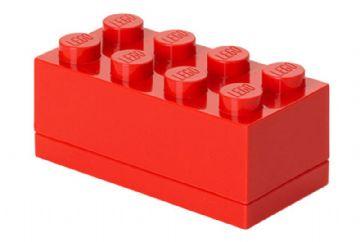 Lego mini box 8 - red , 6 stk. på lager fra Lego på pixizoo
