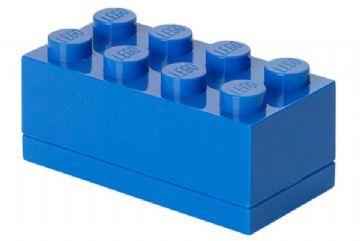 Lego – Lego mini box 8 - blue, +10 stk. på lager på pixizoo