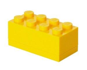 Lego mini box 8 - yellow , +10 stk. på lager fra Lego på pixizoo