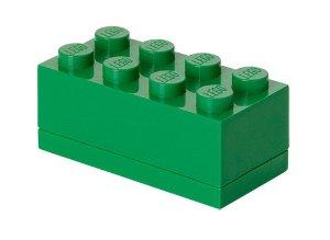 Lego – Lego mini box 8 - dark green, 10 stk. på lager på pixizoo
