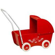 KREA Dockvagn - Röd