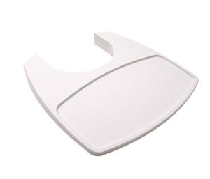 Leander Leander bakkebord til højstol - hvid, 5 stk. på lager på pixizoo