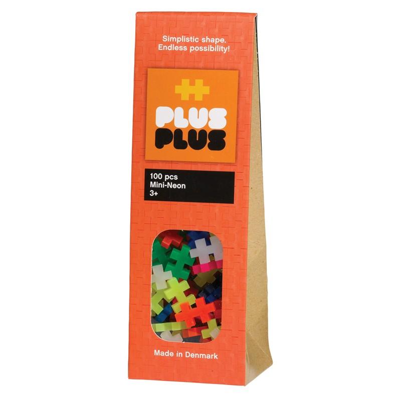 Plus Plus Mini Neon 100 Byggklossar