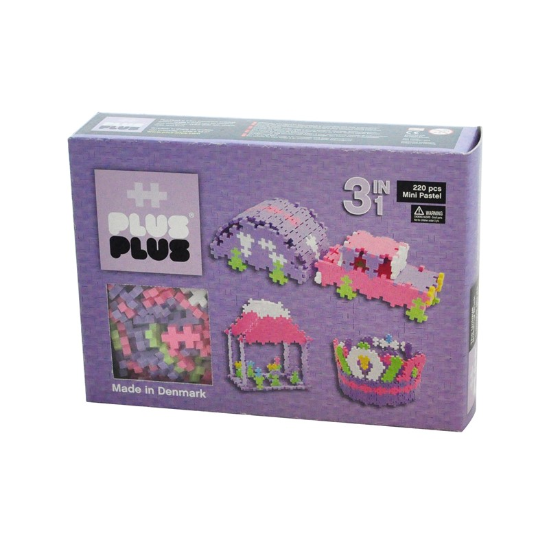 Plus Plus Mini Pastel 3in1 220