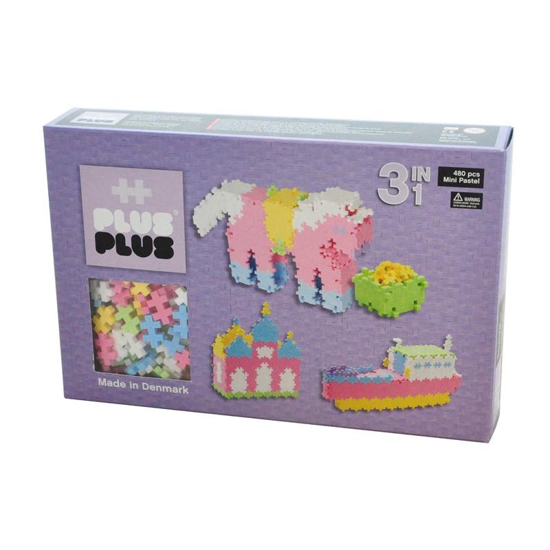 Plus Plus Mini Pastel 3in1 480