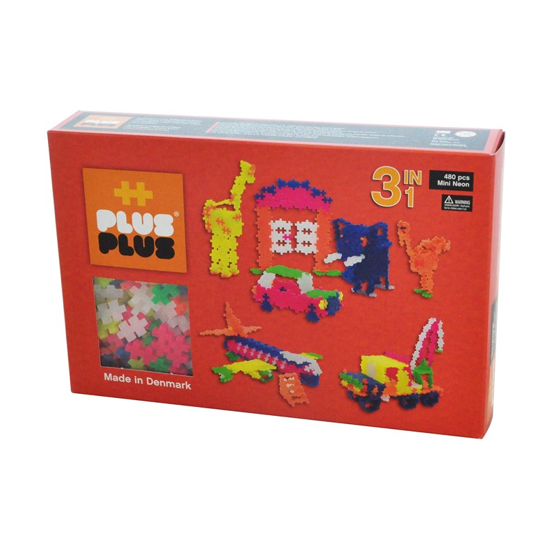 Plus Plus Mini Neon 3in1 480