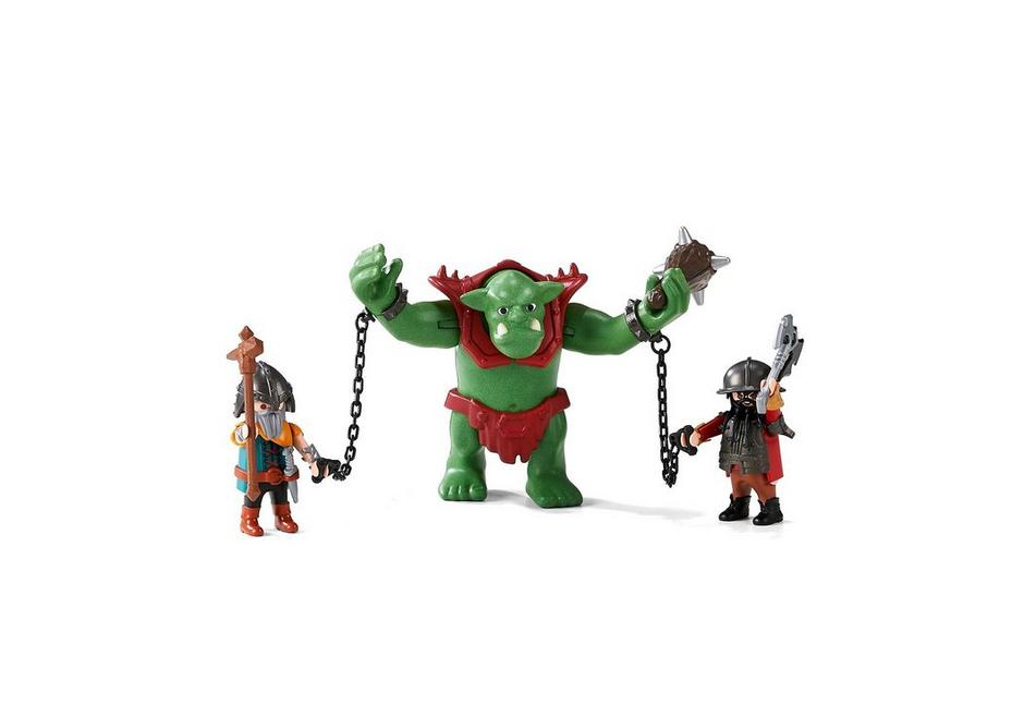 Playmobil Knights (6004) Jättetroll med Dvärgkrigare
