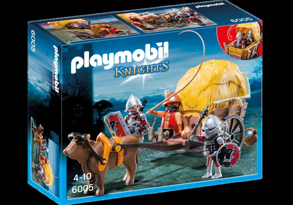 Playmobil Knights (6005) Högriddare med Kamouflerad Vagn