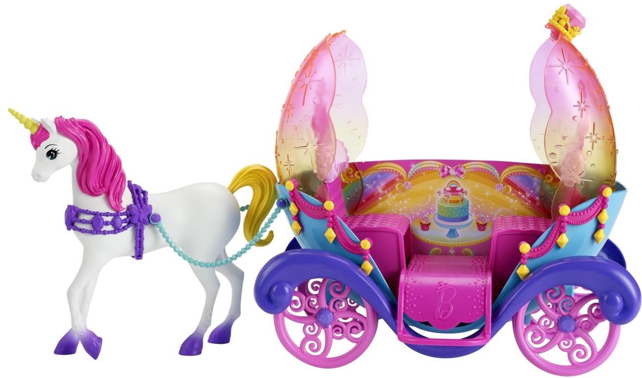 Barbie Barbie enhjørninge vogn, 1 stk. på lager fra pixizoo