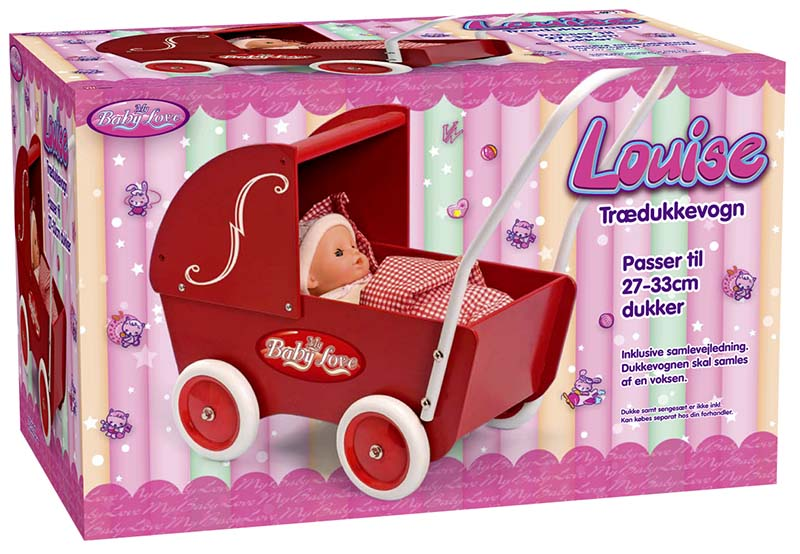 My Baby Love Dockvagn Trä Louise