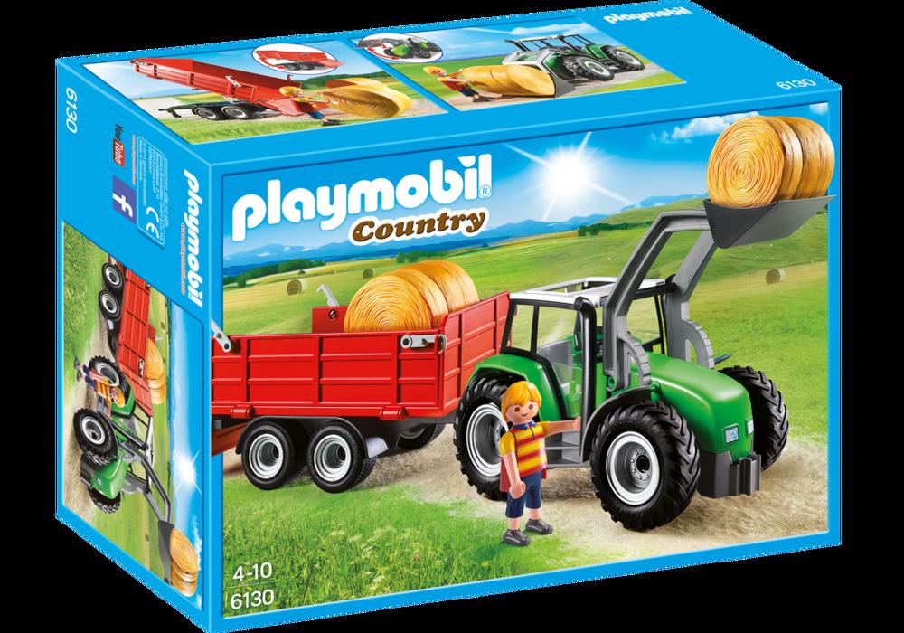 Playmobil Country (6130) Stor Traktor med Släp
