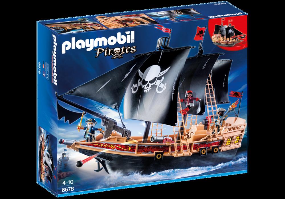 Playmobil Pirates (6678) Piratskepp