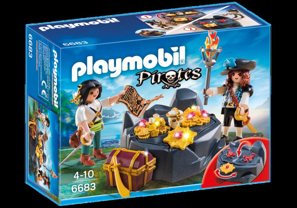 Playmobil Pirates (6683) Skattgömställe med Pirater