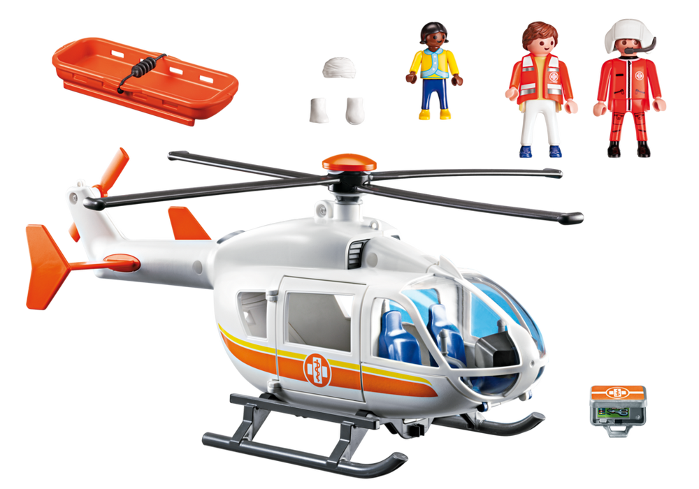 Playmobil City Life (6686) Ambulanshelikopter
