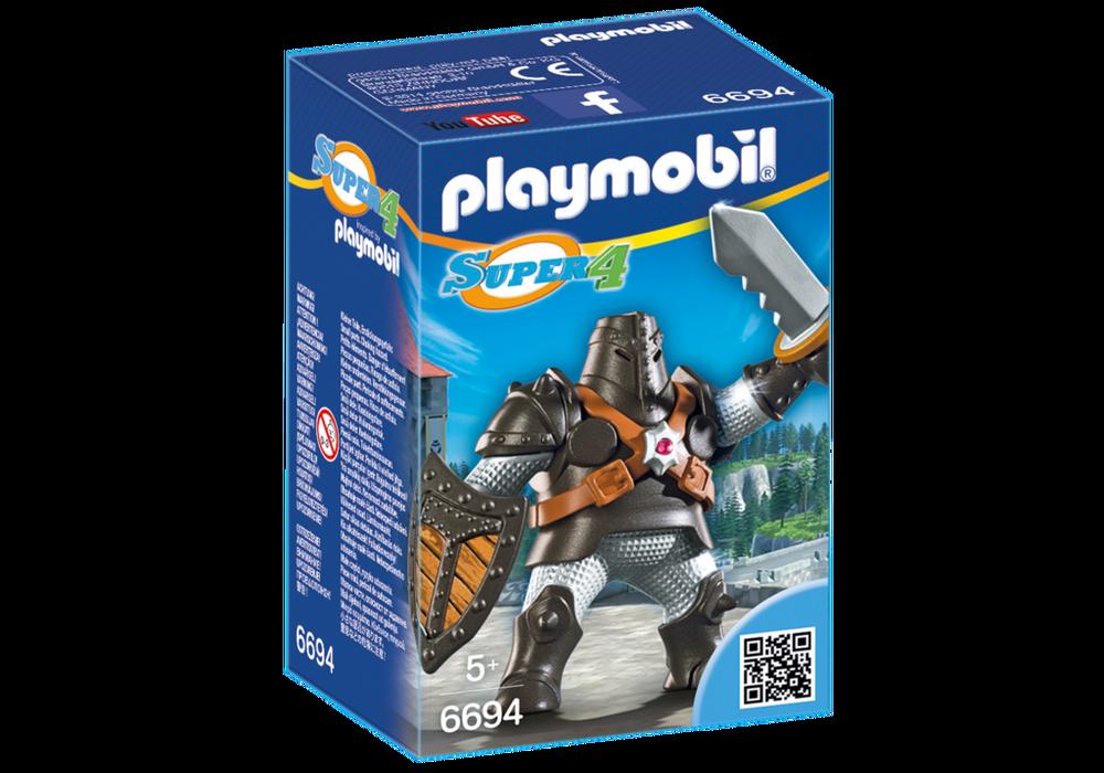 Playmobil Super 4 (6694) Black Colossus