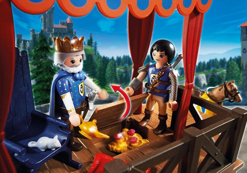 Playmobil Super 4 (6695) Kunglig Turnering med Alex