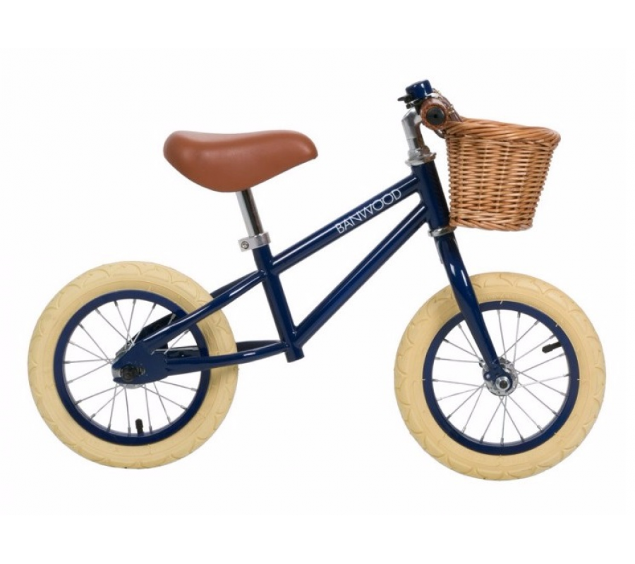 Banwood First Go Balance Bike Springcykel - Navy Blue