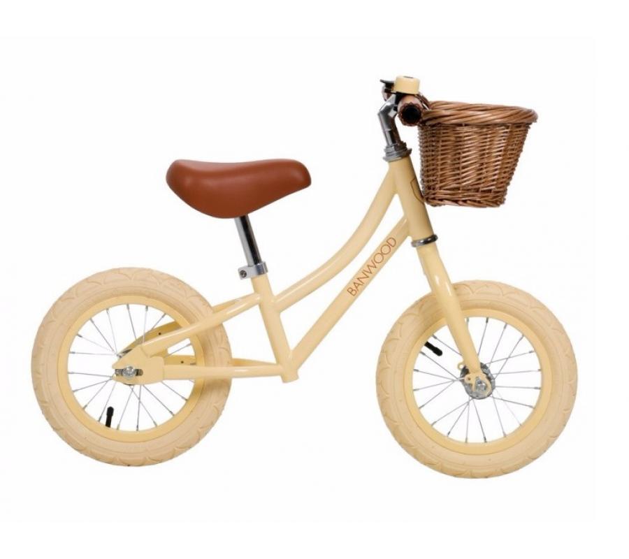 Banwood First Go Balance Bike Springcykel - Vanilla