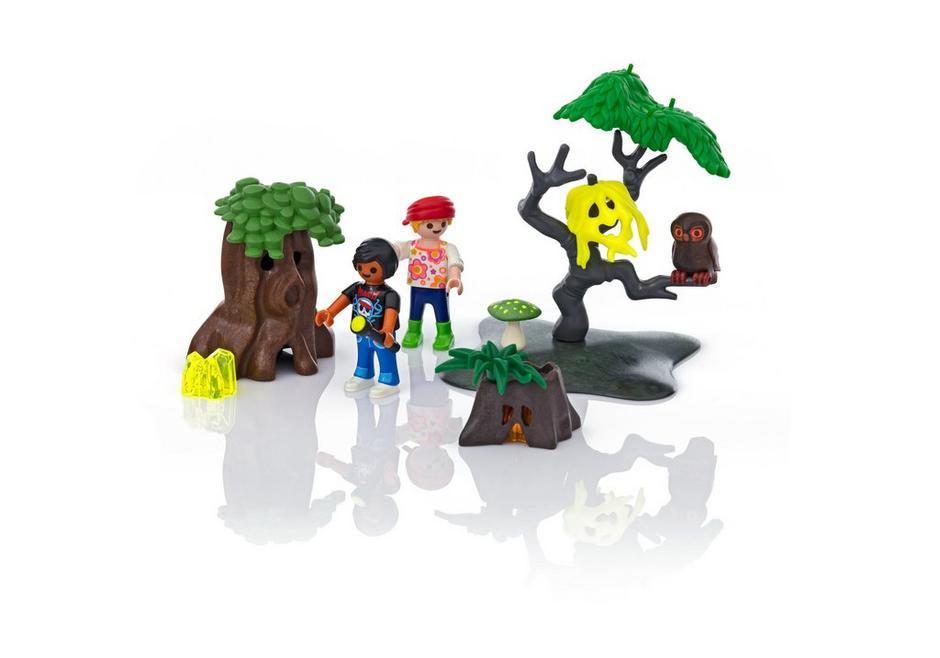 Playmobil FamilyFun (6985) Kvällspromenad i Skogen