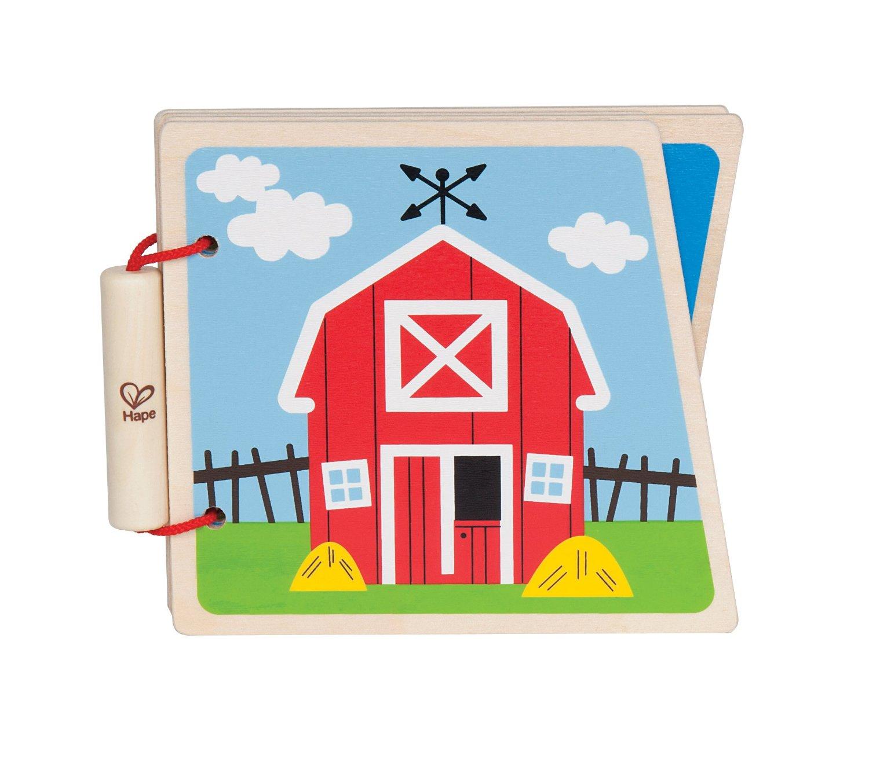 Hape at the farm i display bog, 8 stk. på lager fra Hape på pixizoo