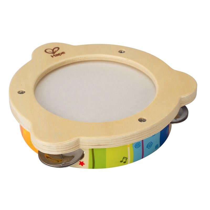 Hape Hape mr. tambourine musikinstrument, 8 stk. på lager fra pixizoo