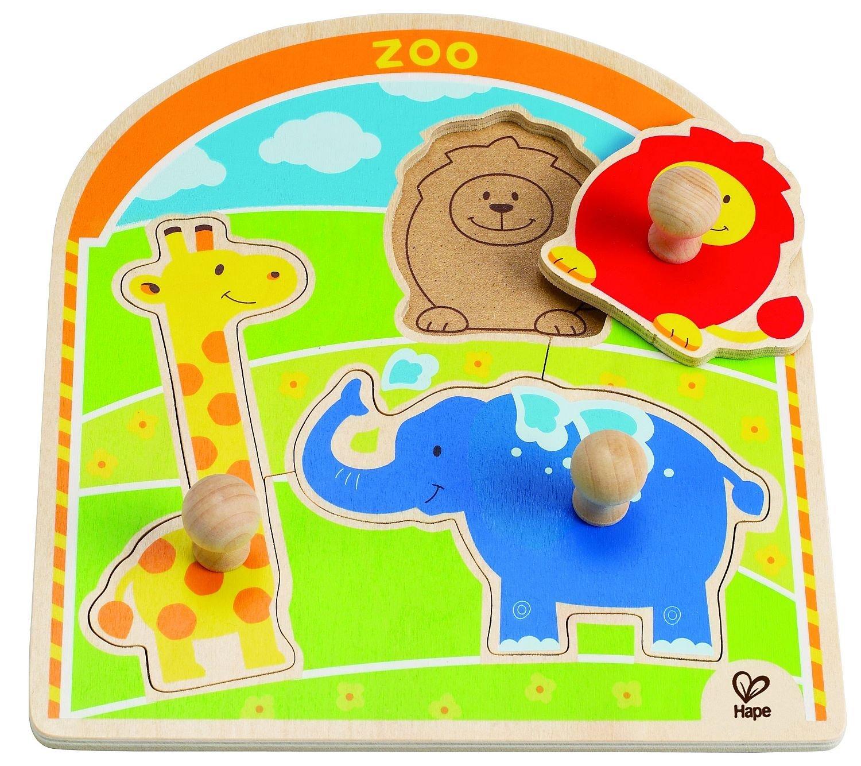 Hape Hape zoo puslespil, 3 stk. på lager på pixizoo