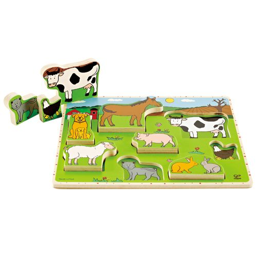 Hape bondegård puslespil, 1 stk. på lager fra Hape fra pixizoo