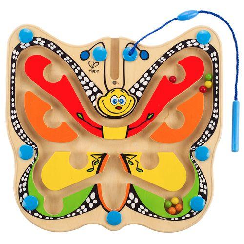 Hape Hape sommerfugl kuglelabyrint, 2 stk. på lager på pixizoo
