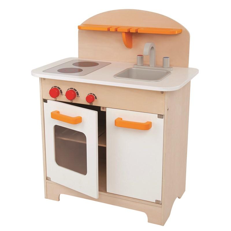 Hape – Hape legeløkken gourmet kitchen - white, +10 stk. på lager fra pixizoo