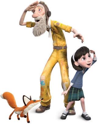 """Hape Leksaksfigurer Från Filmen """"The Little Prince"""""""