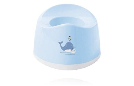 Baby Dan Wally Whale Potta - Ljusblå
