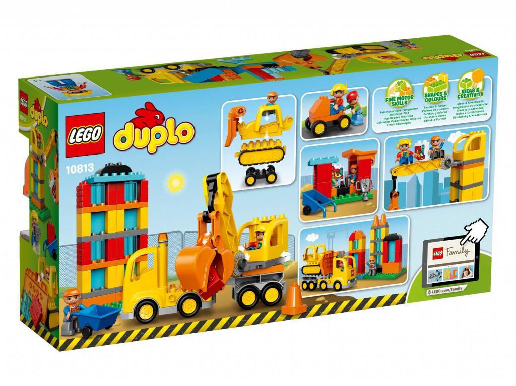 Lego duplo Lego duplo - big construction site, 3 stk. på lager fra pixizoo