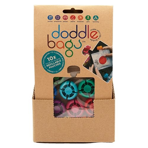 Kidsme Doddle Bags Matpåsar 10-pack