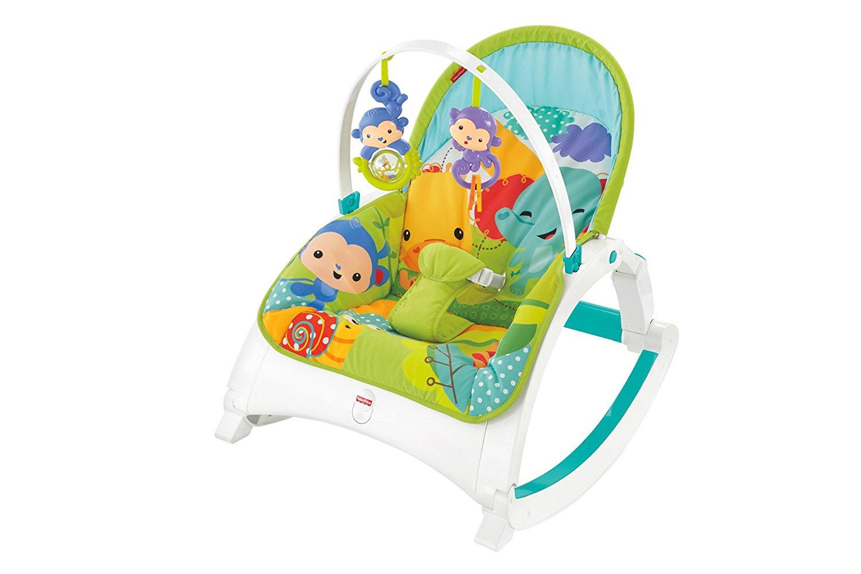 Fisher price – Fisher price newborn to toddler rocker skråstol, 3 stk. på lager fra pixizoo