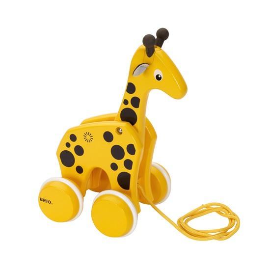 BRIO Giraff Dragleksak