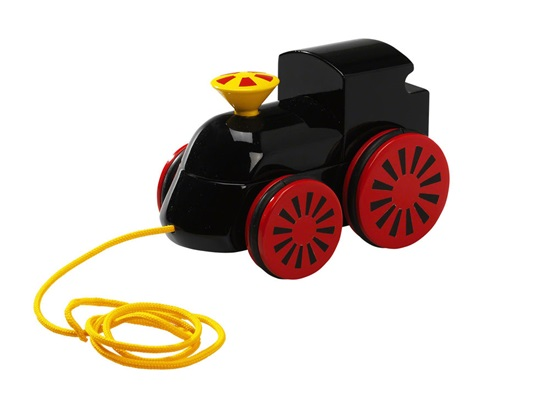 BRIO Tåg Dragleksak - Svart