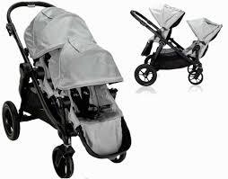 Baby jogger Baby jogger sæde kit til city select extra klapvogn - grafit denim, 8 stk. på lager fra pixizoo