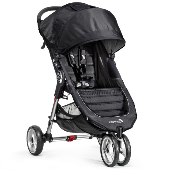 Baby jogger – Baby jogger city mini single - sort/grå klapvogn, +10 stk. på lager på pixizoo