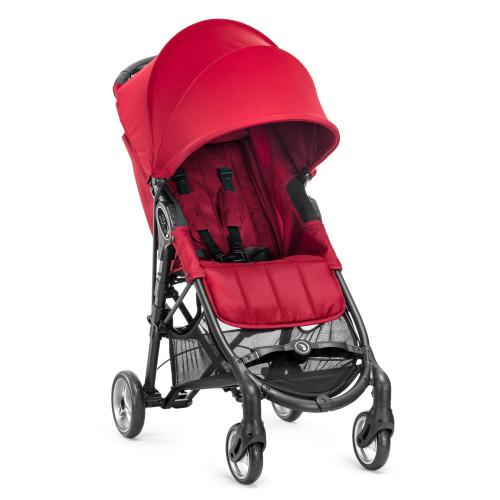 Baby jogger city mini zip - rød, 2 stk. på lager fra Baby jogger fra pixizoo
