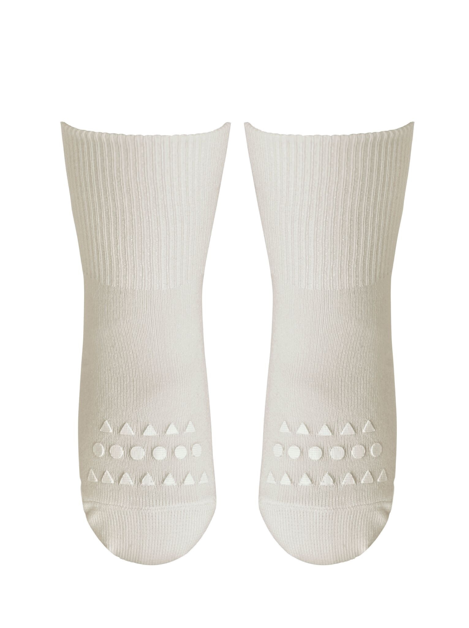 GoBabyGo Bambustrumpor Halkskydd 1-2 år - Off-White