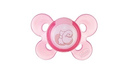 Chicco Physio Comfort Soother 0-6M Silikon Napp - Rosa