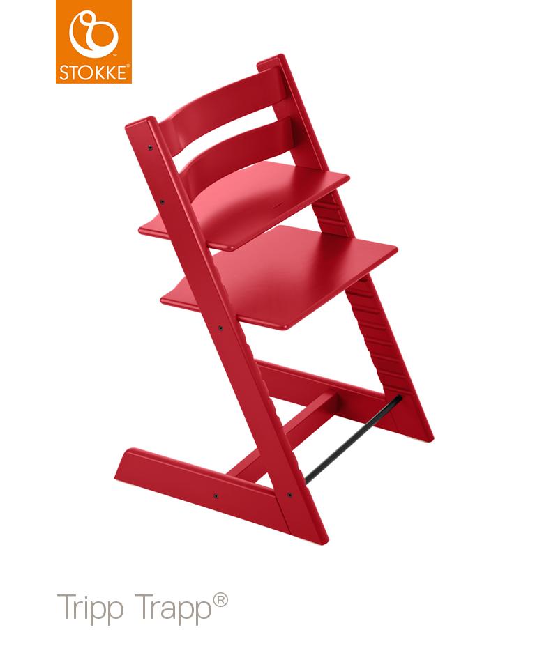 Stokke Tripp Trapp Barnstol - Röd