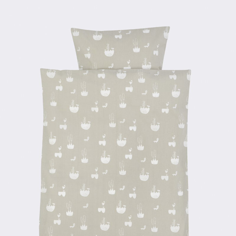 Ferm living Ferm living landscape bedding - junior sengetøj, 4 stk. på lager fra pixizoo