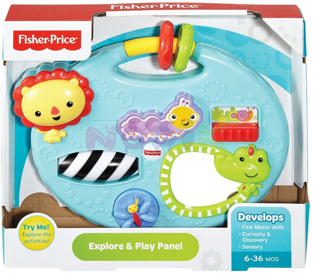 Fisher price – Fisher price baby legepanel, 8 stk. på lager fra pixizoo