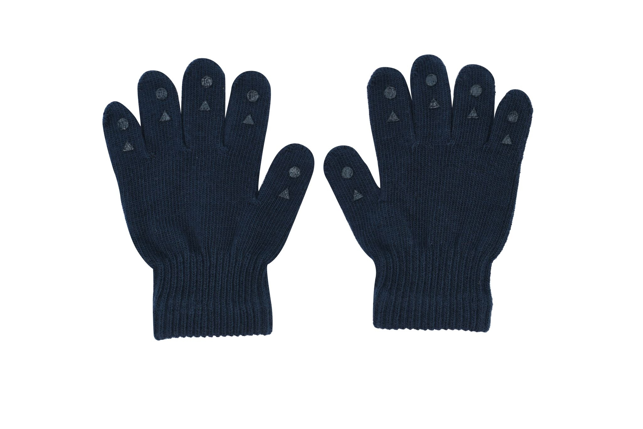 GoBabyGo Grip Gloves Fingervantar 2-3 år - Petroleum Blue